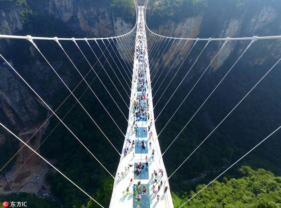 Puente de Zhangjiajie