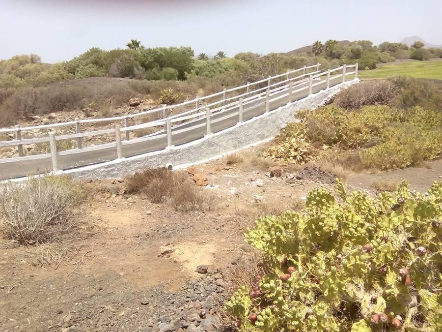 Puente en proceso de construcción