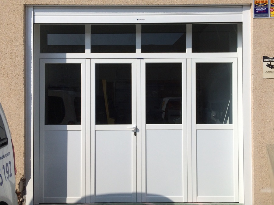 Varios ideas carpinter a met lica for Convertir puerta normal en corredera
