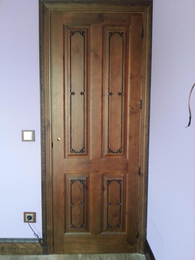 Puertas r sticas y rodapi ideas carpinteros - Puertas en block precios ...