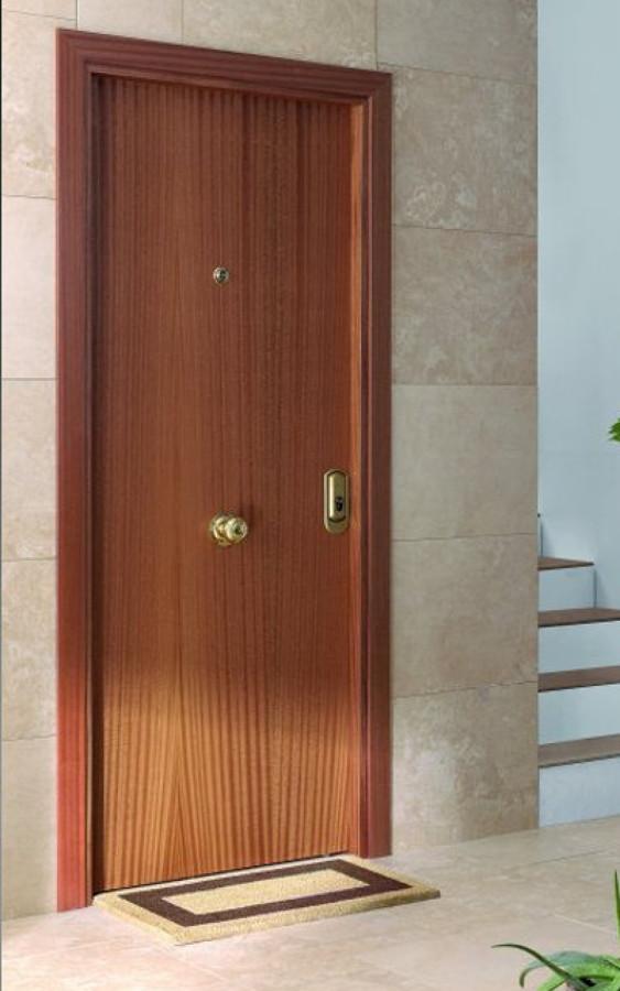 Puertas de seguridad ideas cerrajeros for Puertas de entrada de madera baratas