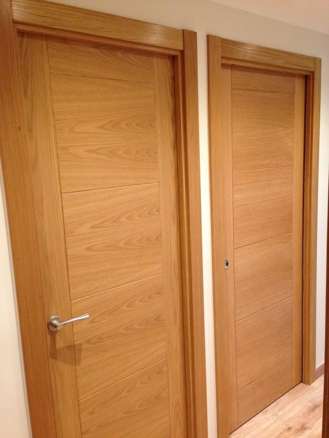 puerta ciega y corredera