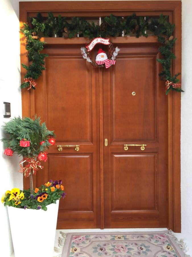 Puerta Clásica madera maciza