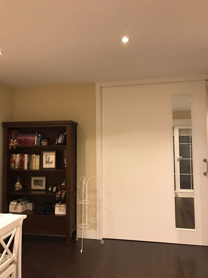 Puerta cocina - salón comedor