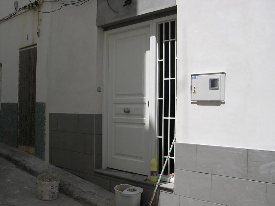 puerta con fijo