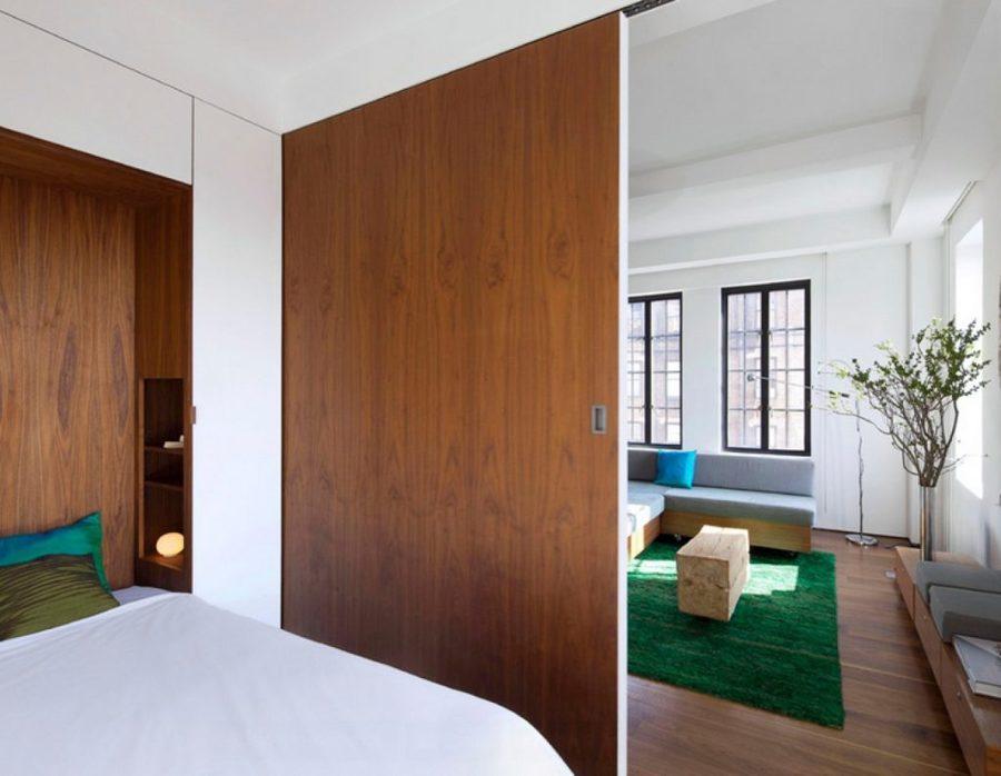 7 formas de separar ambientes sin complicarse demasiado - Puertas correderas para separar ambientes ...