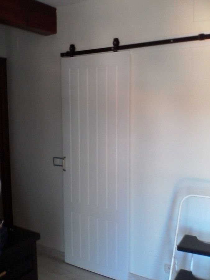casa de este alojamiento instalacion puerta corredera vista