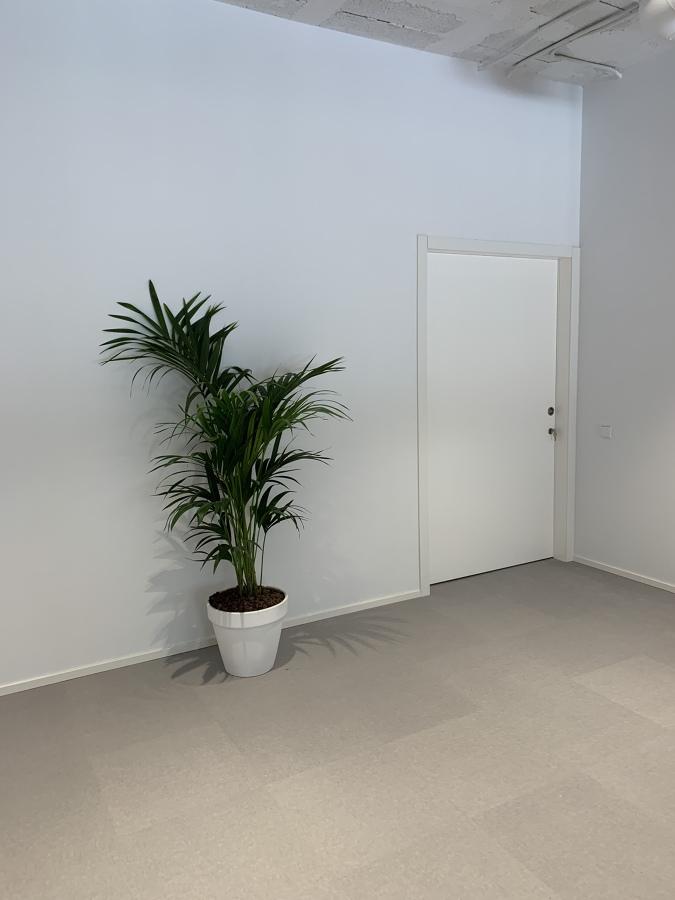 Puerta corredera con uñero y cerradura