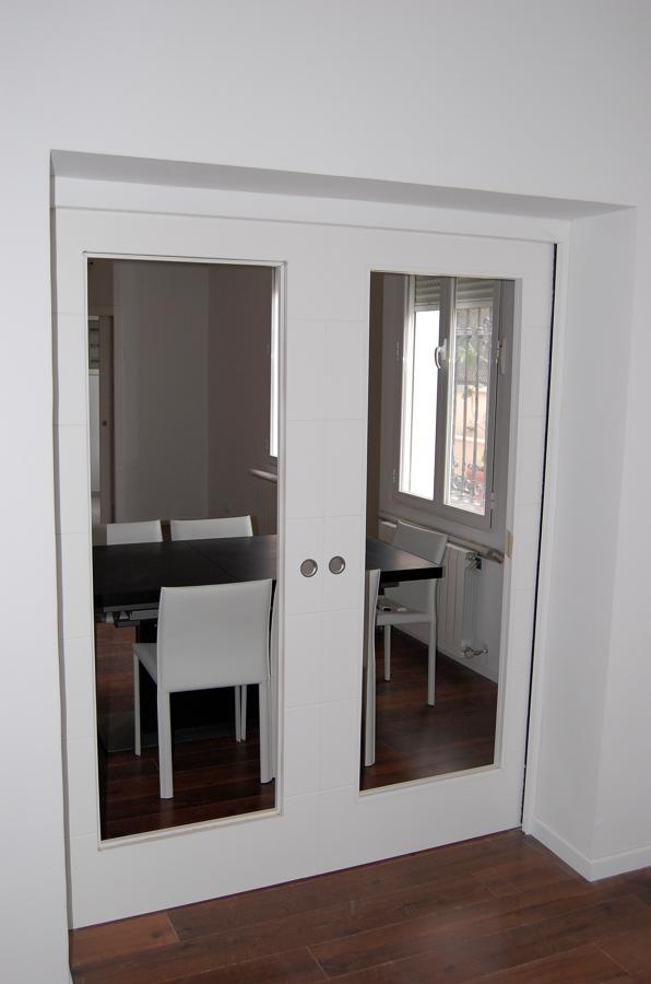 Foto puerta corredera doble de reformad 434365 habitissimo - Puerta corredera doble ...