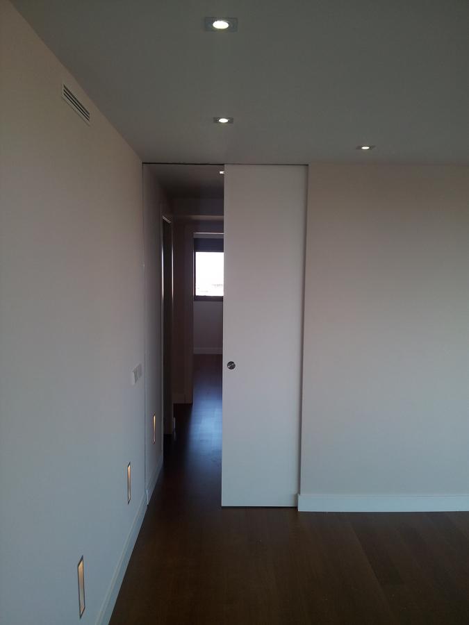 puerta corredera sin marcos
