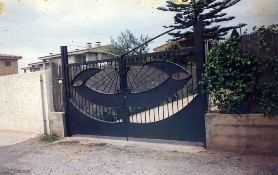 Puerta de Entrada Abatible