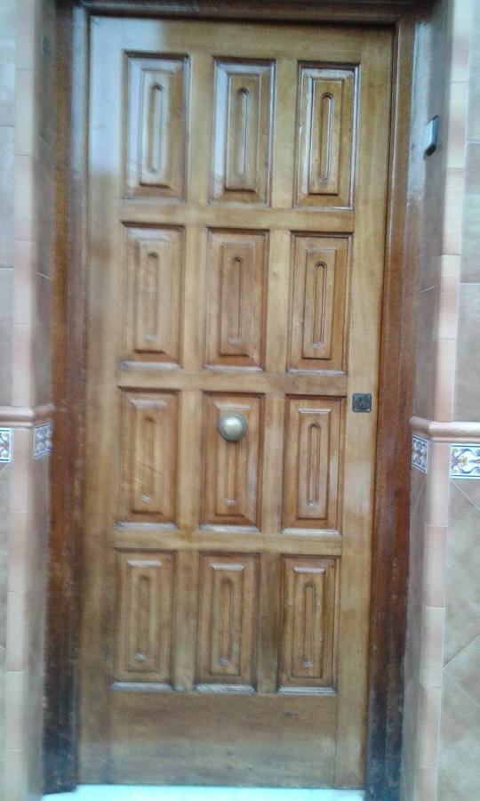 Puerta de entrada antes