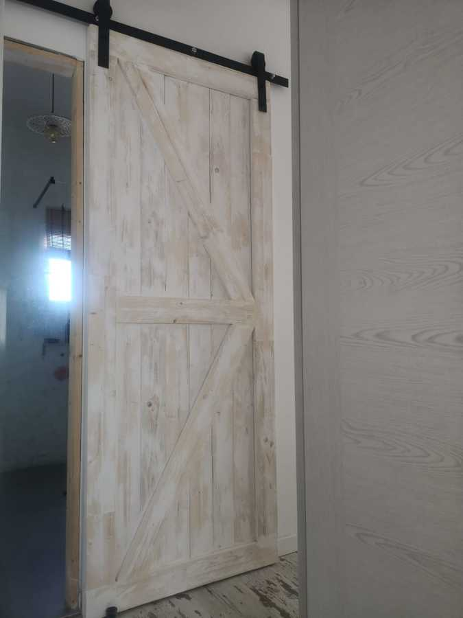 puerta de granero