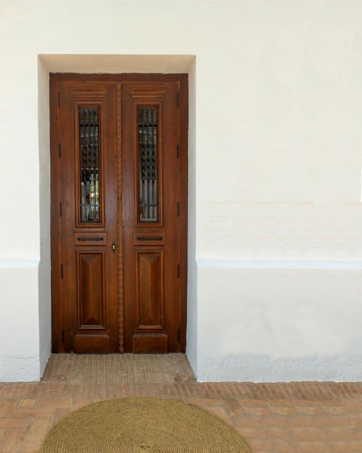 Puerta de madera rustica