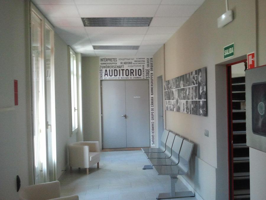 Puerta doble acústica