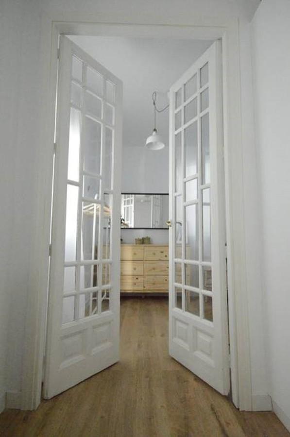 Puerta dormitorio abierta