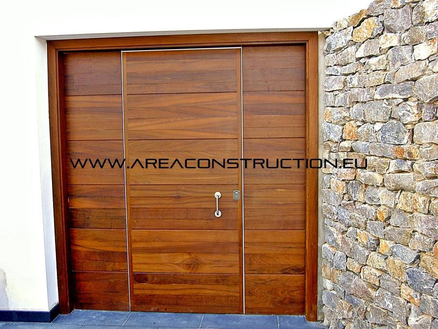 Puertas de madera para entrada principal gallery of la - Puertas de madera para entrada principal ...