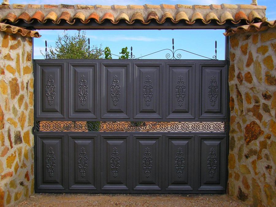 Foto puerta garaje dise o de mahico soluciones 915805 for Diseno puerta