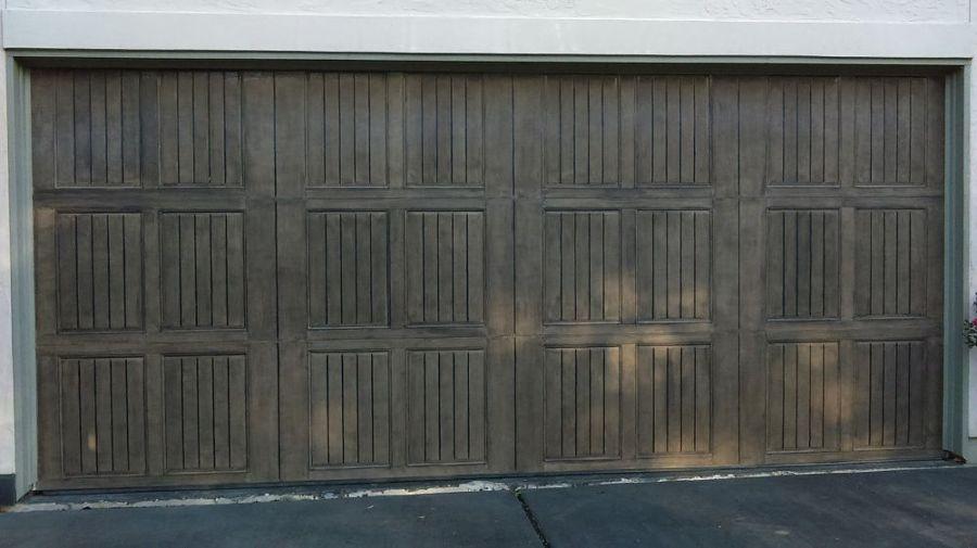 puerta garaje rústica