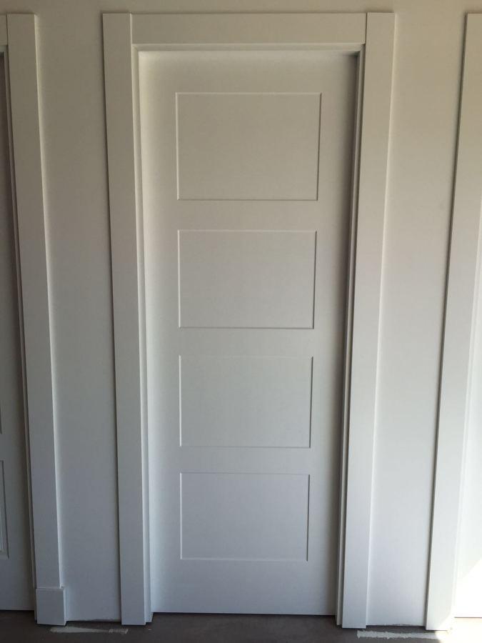 Puertas lacadas en blanco stunning puertas lacadas - Puerta lacada en blanco ...