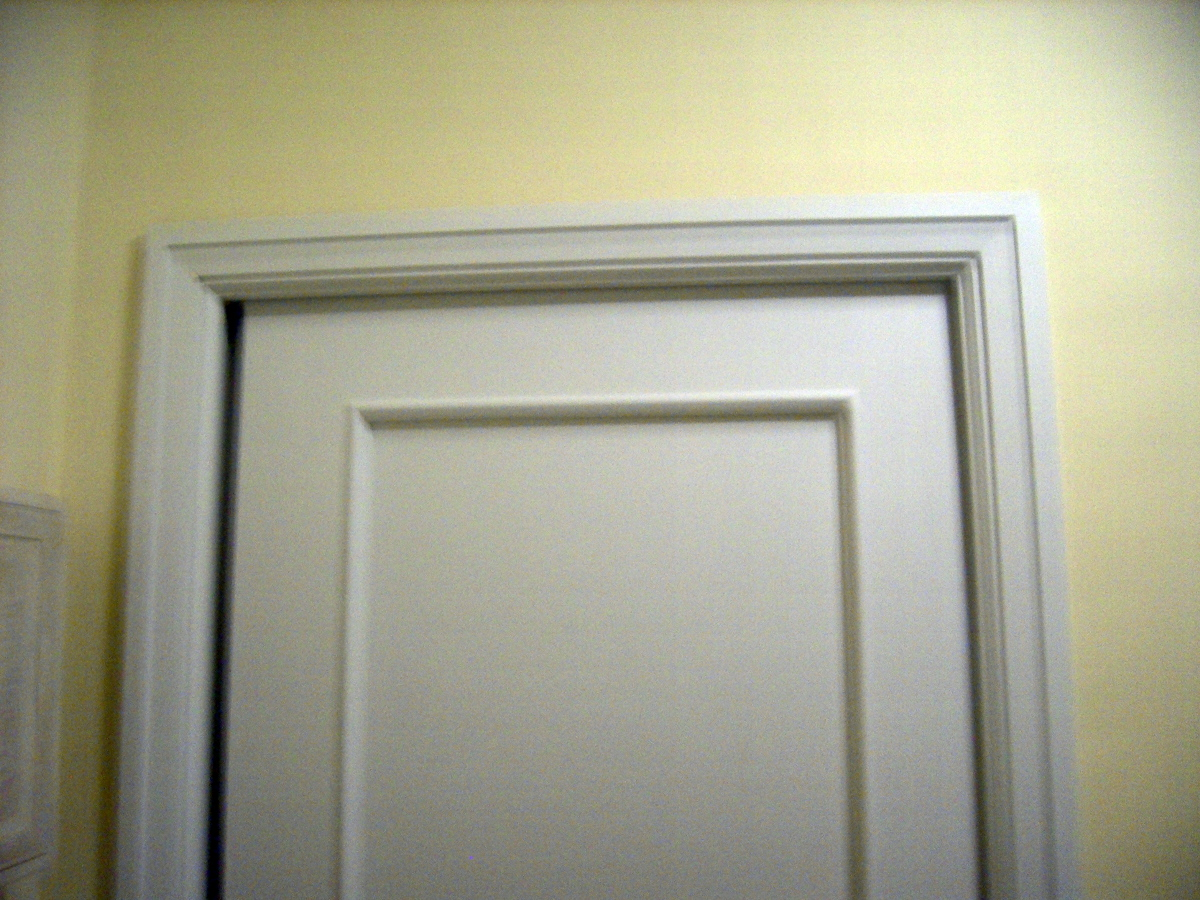 Pintar piso en color y lacar puertas y rodapies ideas - Puertas lacadas en blanco ...