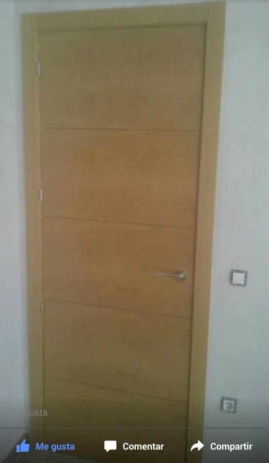 Puertas moderna de roble ideas carpinteros - Puertas de roble modernas ...
