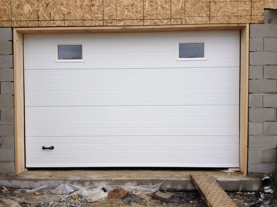 Aluminios novomatic ideas puertas garaje - Puerta de garaje automatica precio ...