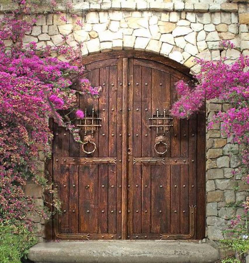 Puertas de madera calidez y est tica asegurada ideas for Decorar puertas viejas de interior