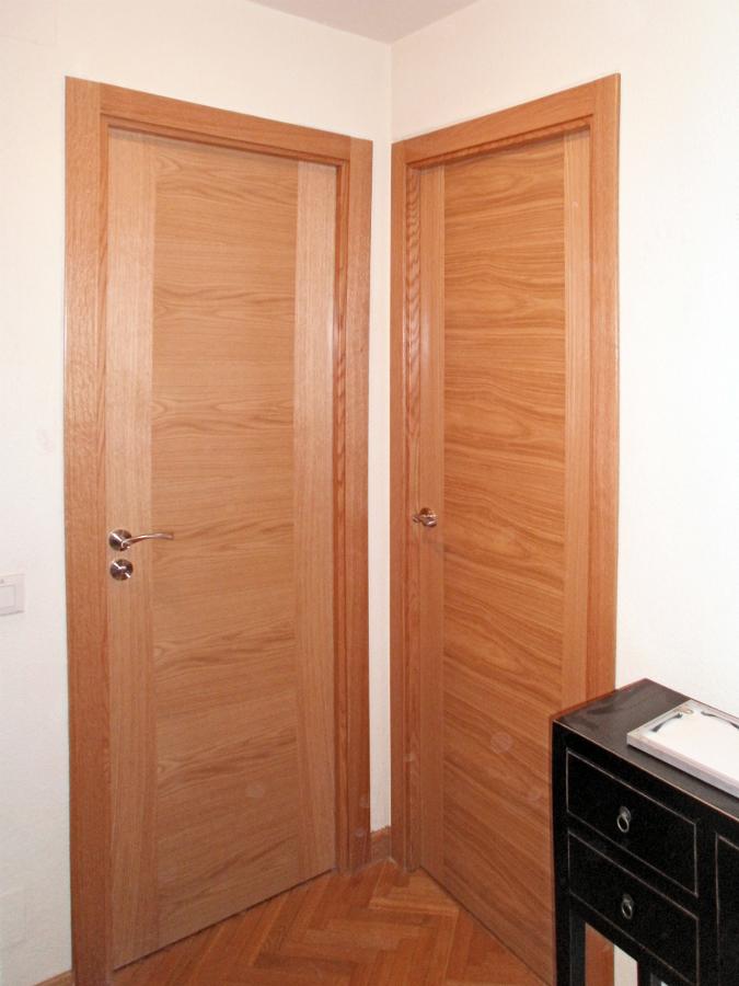 Carpinter a en roble ideas carpinteros - Puertas de roble modernas ...