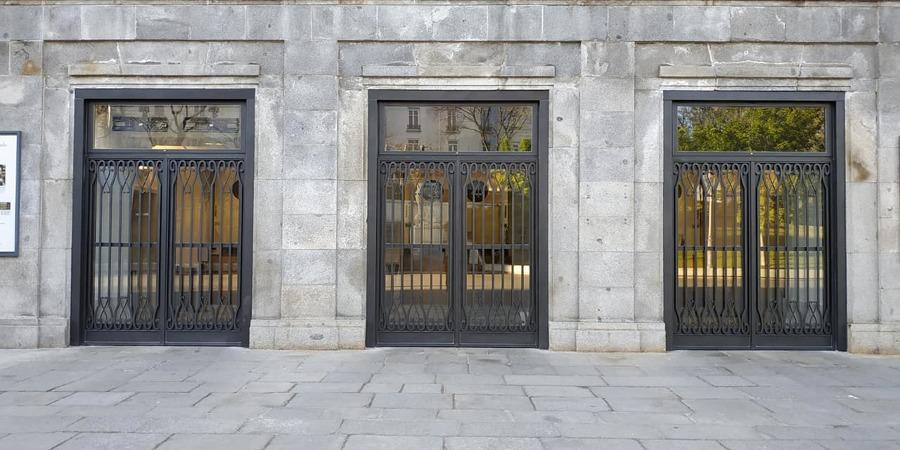 Puertas acabadas
