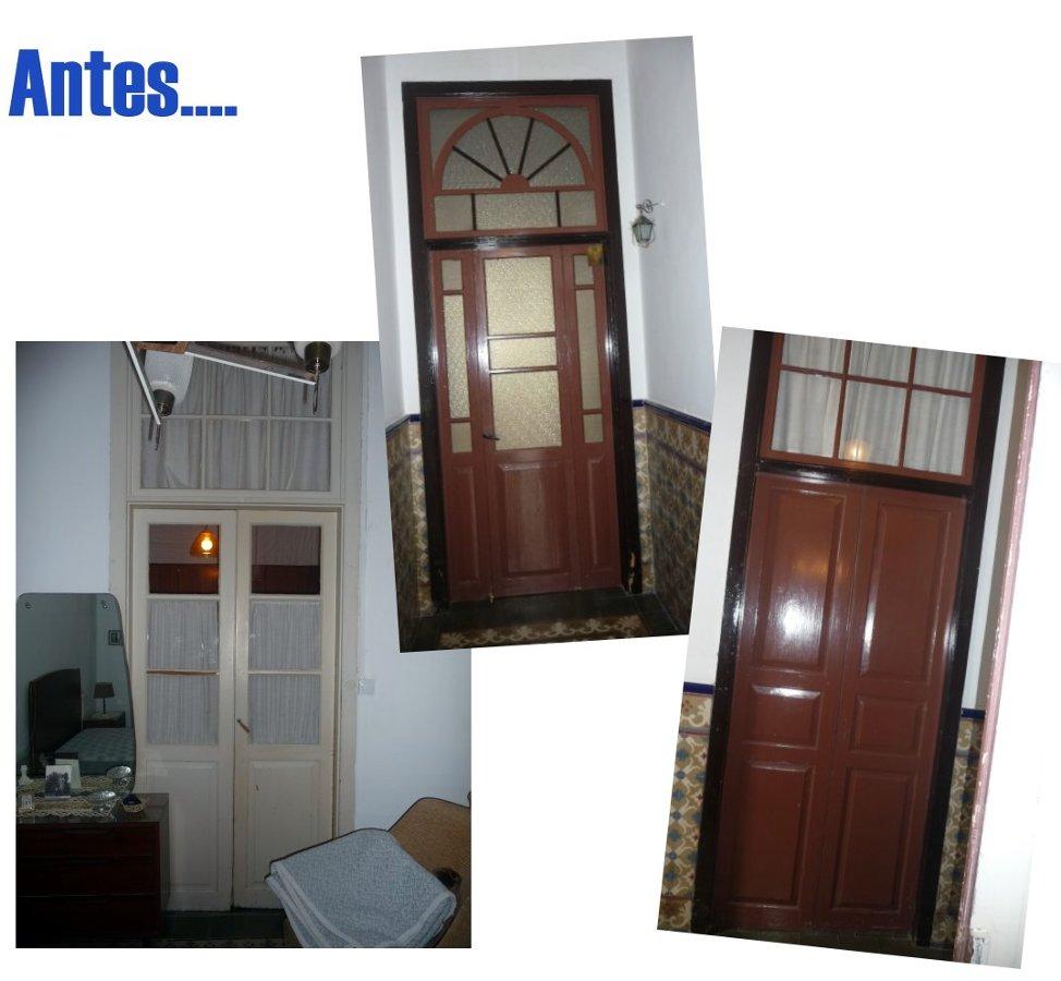Reposici n puertas de interior y cocina en casa antigua for Puerta casa antigua