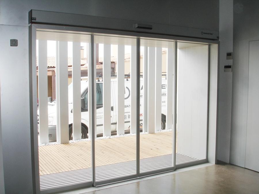Puertas automaticas Navarra