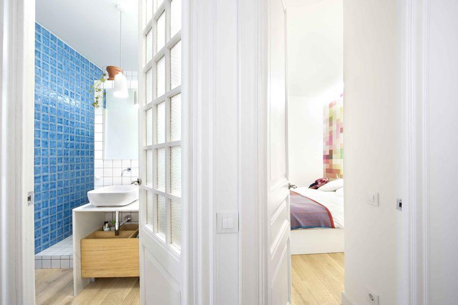 puertas blancas laca