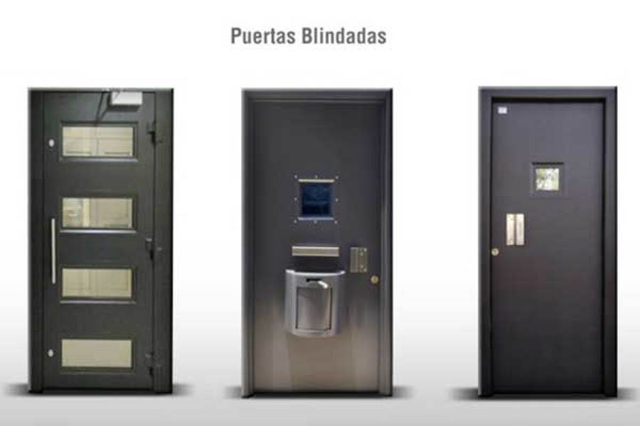 PUERTAS BLINDADAS Y DE SEGURIDAD BANCARIA