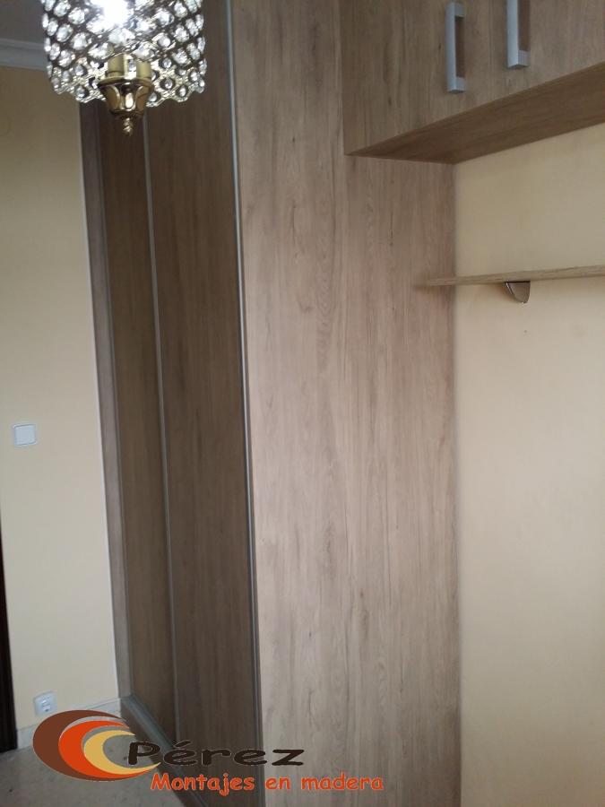 Puertas corredera con perfil plata