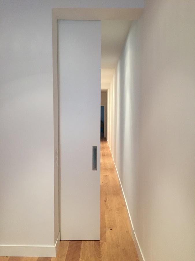 Puertas correderas de madera a medida foto puertas for Puertas madera a medida