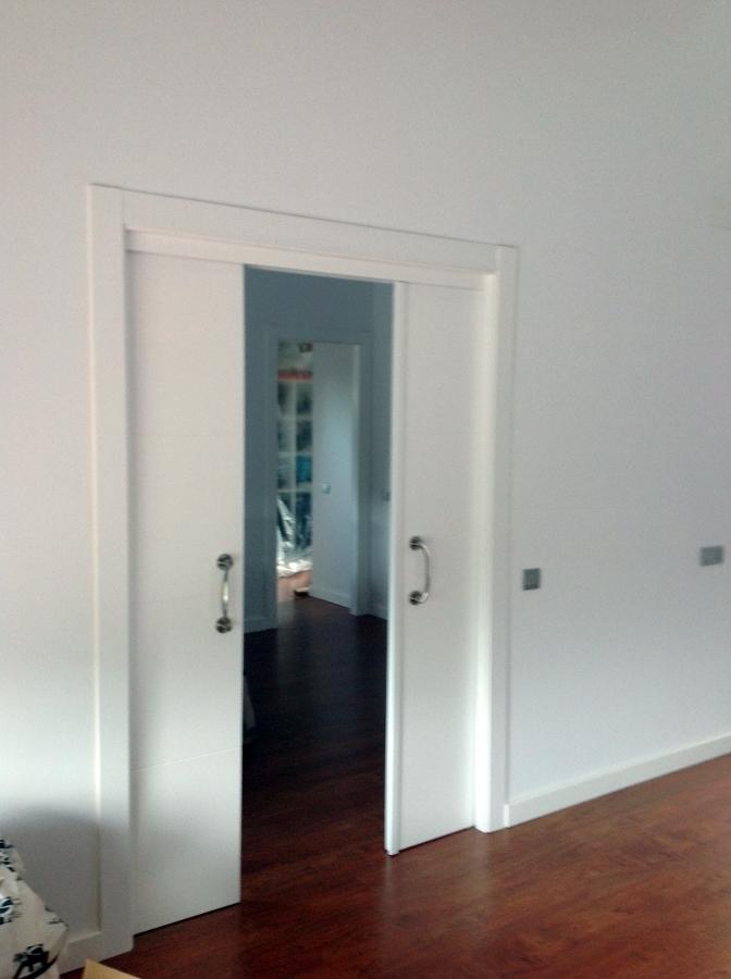 Foto puertas correderas en tabique de jumipuertas 344499 - Puertas correderas empotradas en tabique ...