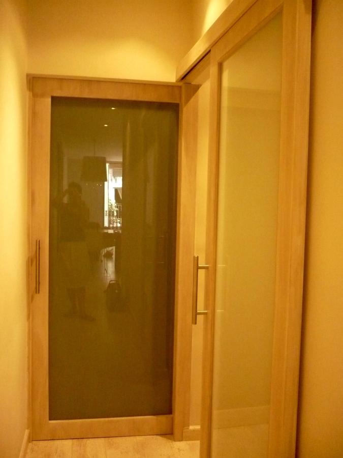 puertas de 270cm de altura a medida en madera roble vintage