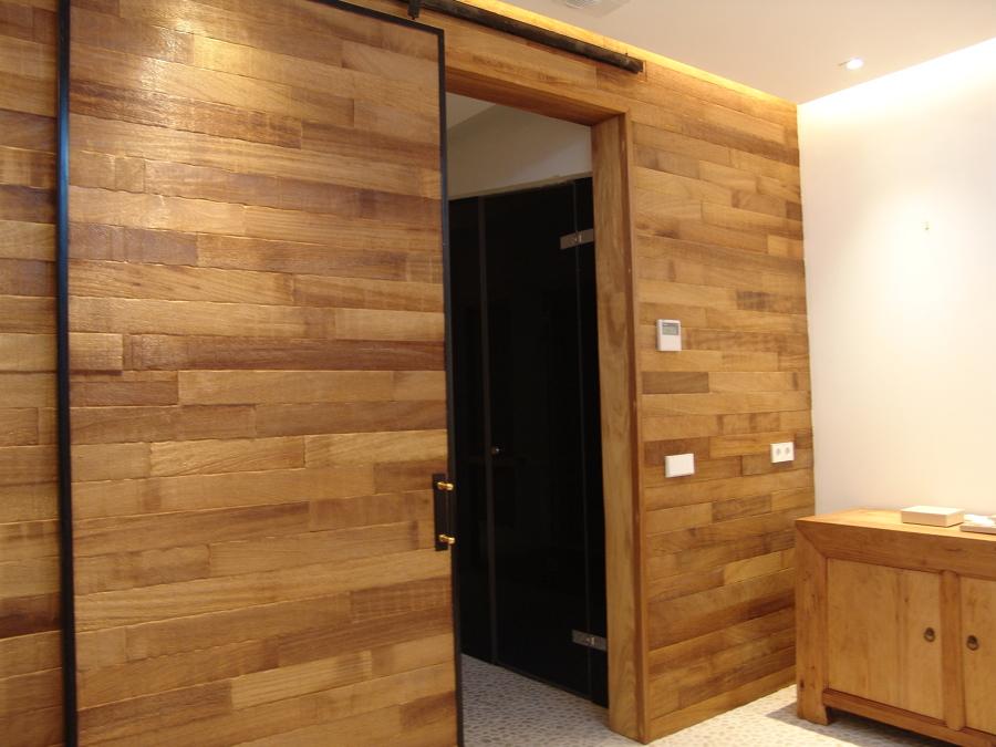 Puertas de madera modernas