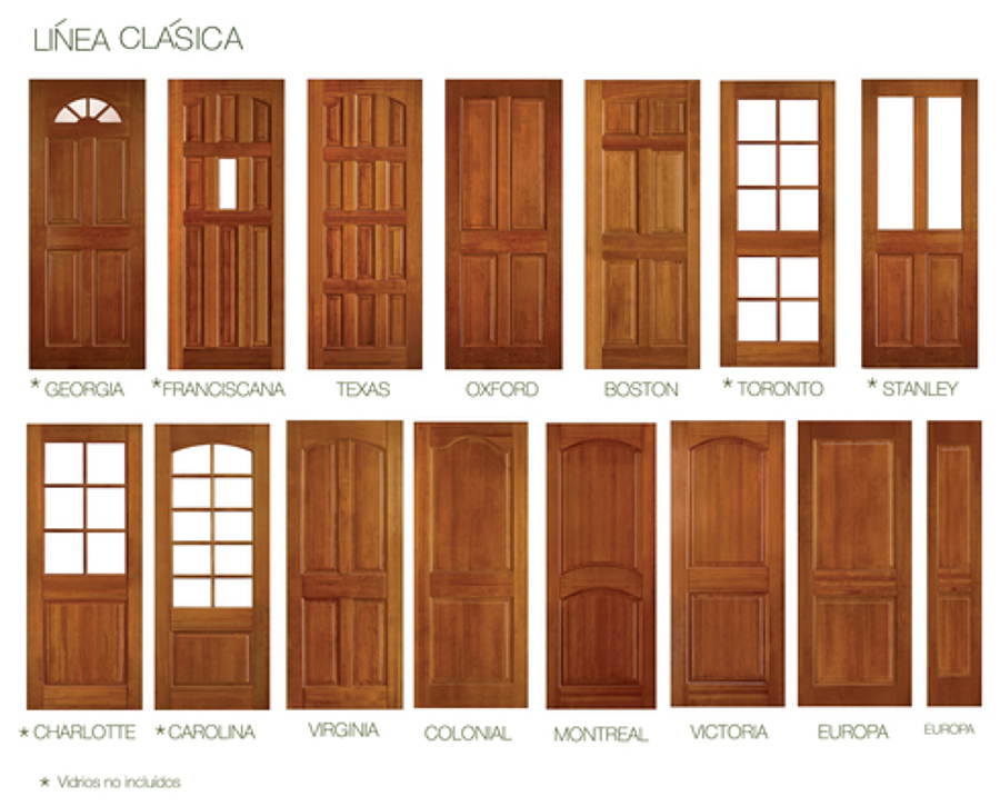 Puertas de madera rusticas