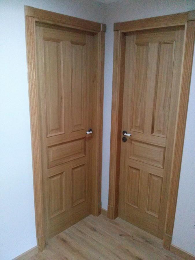 Puertas interiores en vivienda