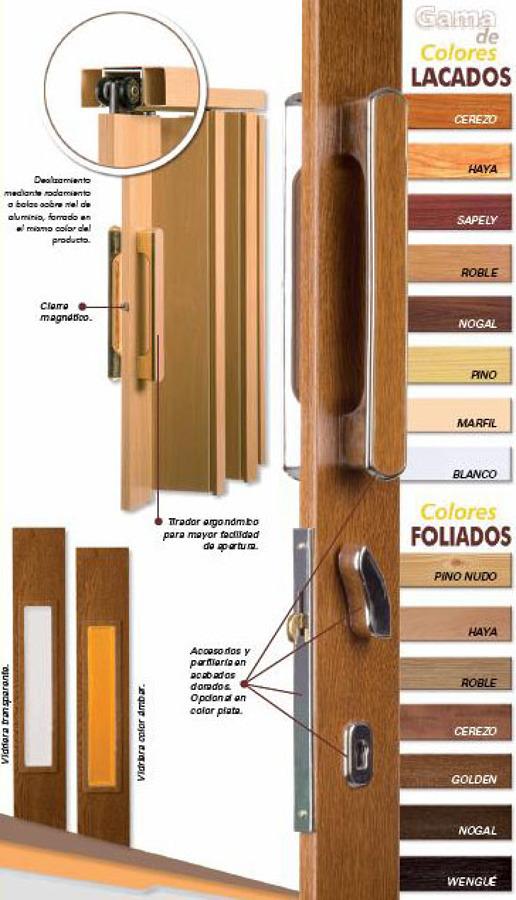 Foto puertas plegables de pvc de turisol decorlux - Puertas pvc plegables ...
