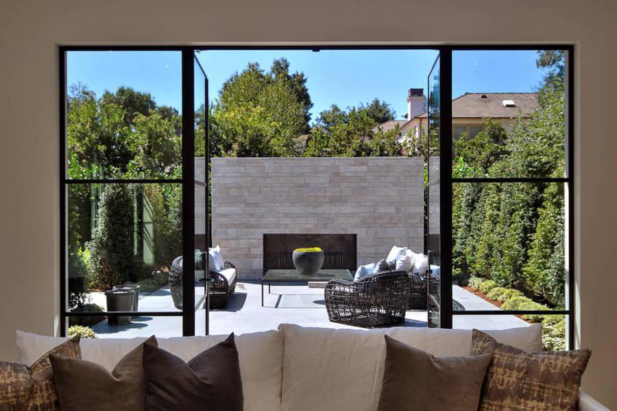 10 terrazas y patios que merecen un 10 ideas decoradores - Puertas de terraza ...