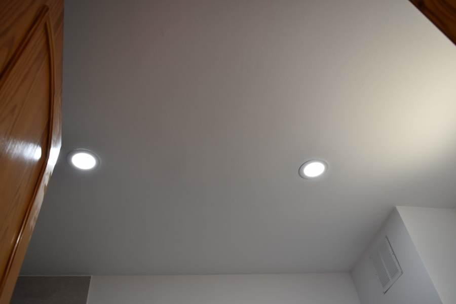 puntos de luz en led