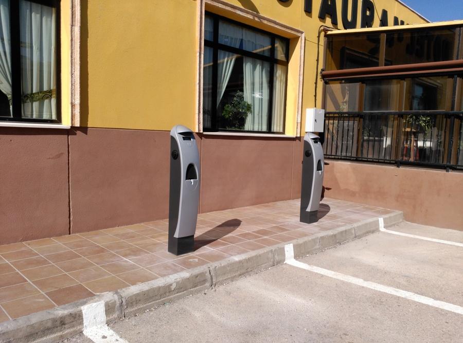 Puntos de recarga Semi-rápida para Vehículos Eléctricos