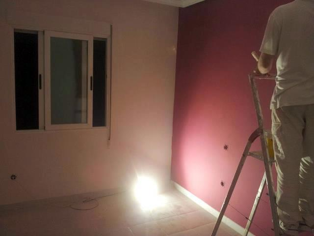 Foto quitar gotelet y alisado de techos y paredes de - Quitar pintura de pared ...