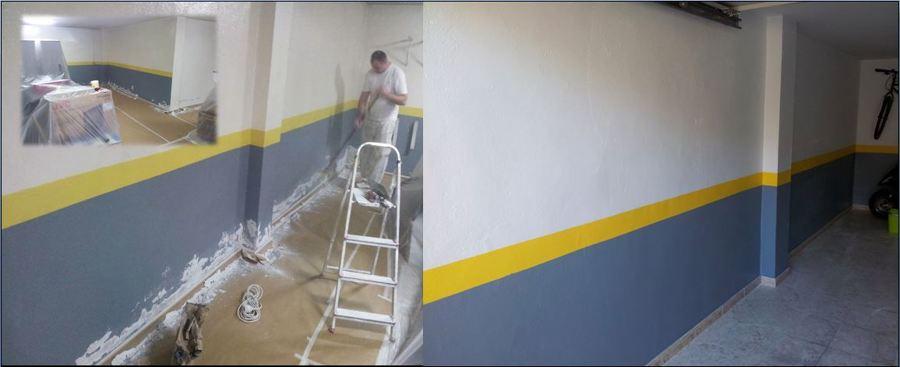 Foto quitar humedades y pintar garaje de pintura en - Pintura de garaje ...