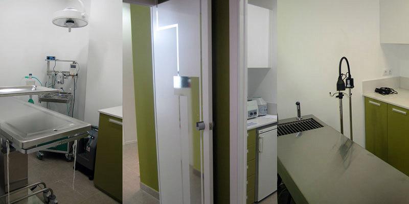 Foto raddi arquitectes cl nica veterin ria en planta - Clinicas veterinarias ourense ...