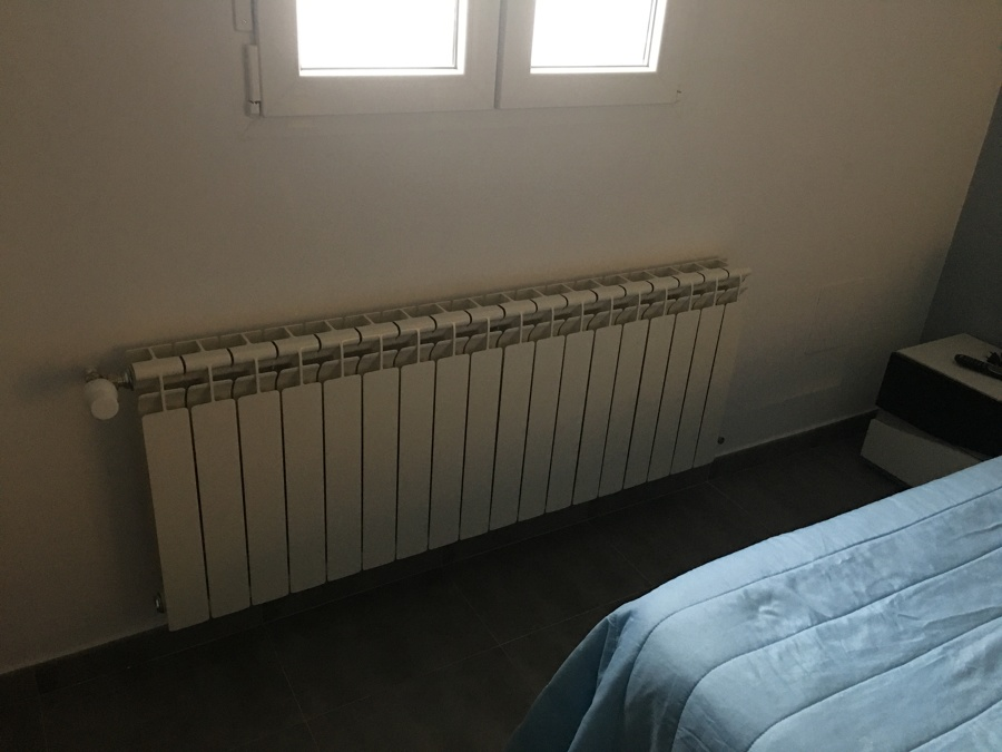 Radiador dormitorio