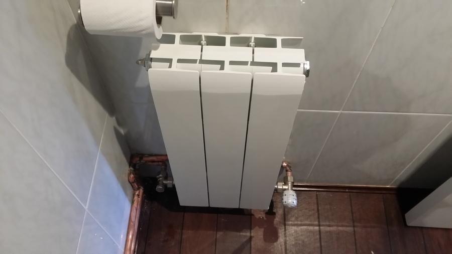 Foto radiador en ba o 2 de sercal calefacci n 1023981 - Radiador bano ...